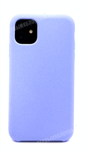 Чехол для iPhone 11, Luquid Silicone Case, Deppa, лавандовый - фото 8393