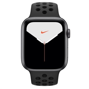 Умные часы Watch Nike S5 40mm Space Gray Anthracite Black Nike Sport Band (MX3T2)