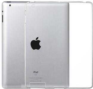Чехол для iPad 2/3/4 силиконовый, прозрачный