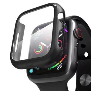 Кейс Deppa со стеклом для Apple Watch 4/5 series, 44mm, черный