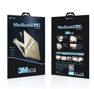"Защитная пленка для MacBook Pro 15' TouchBar Mocoll 5 в 1, (серия ""Black Diamond""), Silver"