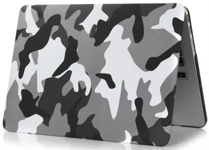 Чехол накладка для MacBook Air 2013 13' NN, камуфляж серый