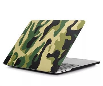 Чехол накладка для MacBook Air 2013 13' NN, камуфляж зеленый