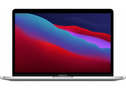 Ноутбук MacBook Pro 13 Silver (2020) (M1, 8 ГБ, 256 ГБ SSD, Touch Bar) MYDA2RU/A