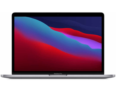 Ноутбук MacBook Pro 13 Space Gray (2020) (M1, 8 ГБ, 256 ГБ SSD, Touch Bar) MYD82RU/A