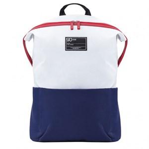 Рюкзак Xiaomi 90 Points Lecturer Casual Backpack, бело-синий
